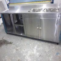 Fabricação de pia em aço inox sob encomenda para bares restaurantes lanchonete e confeitaria