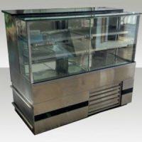 Fabricação de vitrine em aço inox sob medida para bares, restaurantes, lanchonete e confeitaria 6