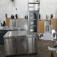Fabricação de balção em aço inox sob medida para bares restaurantes lanchonete e confeitaria