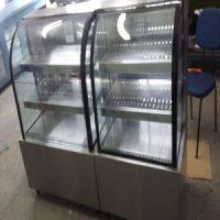 Fabricação de vitrine em aço inox sob medida para bares, restaurantes, lanchonete e confeitaria 7