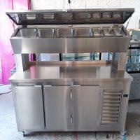 Fabricação de cozinhas em aço inox sob encomenda para bares, restaurantes, lanchonete e confeitaria